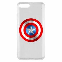 Чехол для Xiaomi Mi6 Captain America 3D Shield
