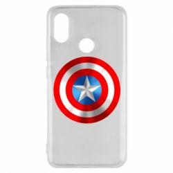 Чехол для Xiaomi Mi8 Captain America 3D Shield