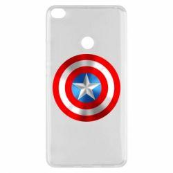Чехол для Xiaomi Mi Max 2 Captain America 3D Shield