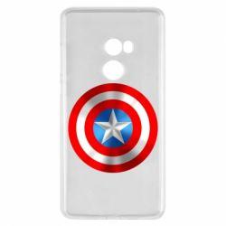 Чехол для Xiaomi Mi Mix 2 Captain America 3D Shield