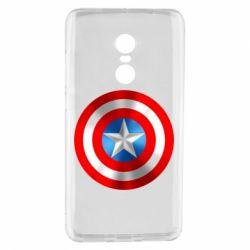 Чехол для Xiaomi Redmi Note 4 Captain America 3D Shield