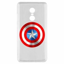 Чехол для Xiaomi Redmi Note 4x Captain America 3D Shield