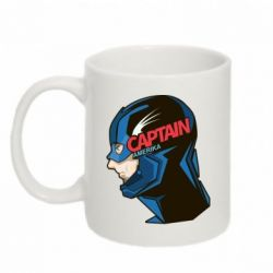 Кружка 320ml Captain America Art - FatLine