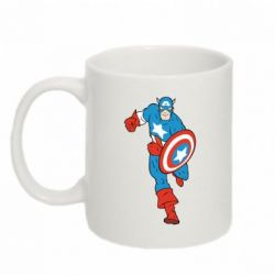 Кружка 320ml Captain America Comics