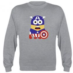 Реглан (свитшот) Captain America Minion - FatLine
