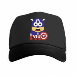 Кепка-тракер Captain America Minion