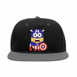 Снепбек Captain America Minion