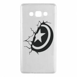 Чохол для Samsung A7 2015 Captain America shield