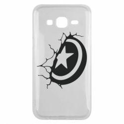 Чохол для Samsung J5 2015 Captain America shield