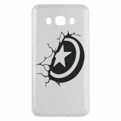 Чохол для Samsung J5 2016 Captain America shield