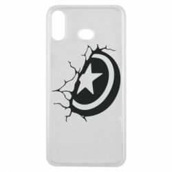 Чохол для Samsung A6s Captain America shield