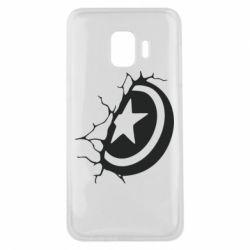 Чохол для Samsung J2 Core Captain America shield