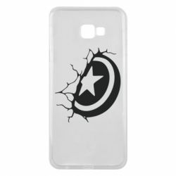 Чохол для Samsung J4 Plus 2018 Captain America shield