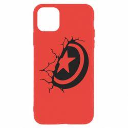 Чохол для iPhone 11 Captain America shield