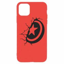 Чохол для iPhone 11 Pro Max Captain America shield