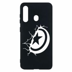 Чохол для Samsung M40 Captain America shield