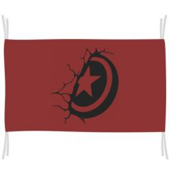 Прапор Captain America shield
