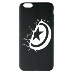 Чохол для iPhone 6 Plus/6S Plus Captain America shield