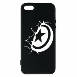 Чохол для iphone 5/5S/SE Captain America shield