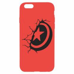 Чохол для iPhone 6/6S Captain America shield