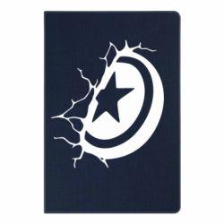 Блокнот А5 Captain America shield