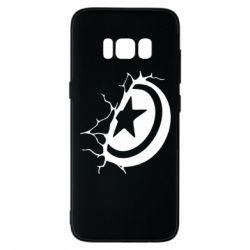 Чохол для Samsung S8 Captain America shield