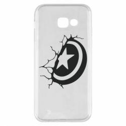 Чохол для Samsung A5 2017 Captain America shield