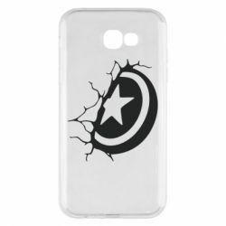 Чохол для Samsung A7 2017 Captain America shield