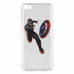 Чехол для Xiaomi Mi5/Mi5 Pro Captain america with red shadow