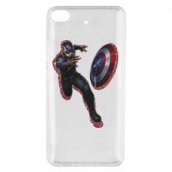 Чехол для Xiaomi Mi 5s Captain america with red shadow