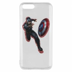 Чехол для Xiaomi Mi6 Captain america with red shadow