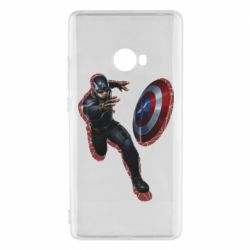 Чехол для Xiaomi Mi Note 2 Captain america with red shadow