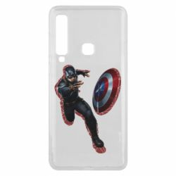 Чехол для Samsung A9 2018 Captain america with red shadow
