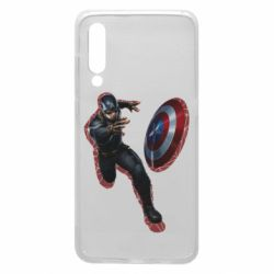 Чехол для Xiaomi Mi9 Captain america with red shadow