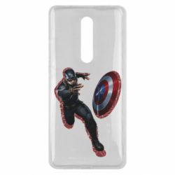 Чехол для Xiaomi Mi9T Captain america with red shadow