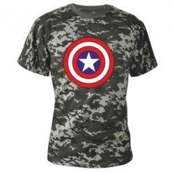 Камуфляжная футболка Captain America