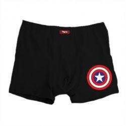 Мужские трусы Captain America - FatLine