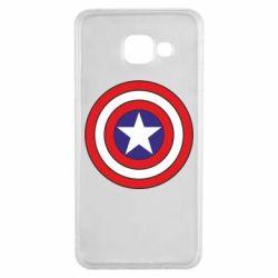 Чехол для Samsung A3 2016 Captain America