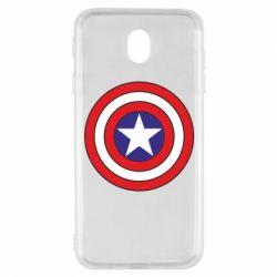 Чехол для Samsung J7 2017 Captain America