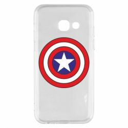 Чехол для Samsung A3 2017 Captain America