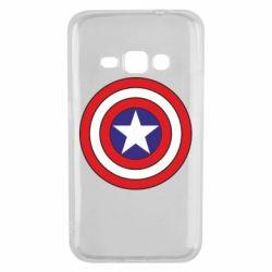 Чехол для Samsung J1 2016 Captain America