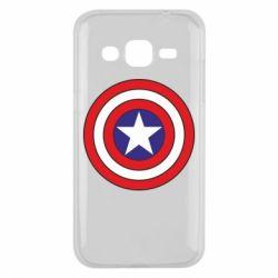 Чехол для Samsung J2 2015 Captain America