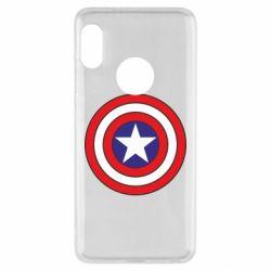 Чехол для Xiaomi Redmi Note 5 Captain America