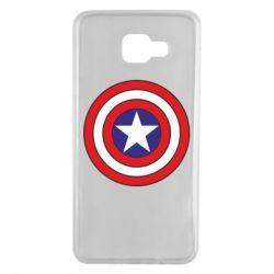 Чехол для Samsung A7 2016 Captain America