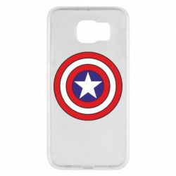 Чехол для Samsung S6 Captain America