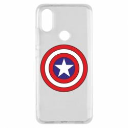 Чехол для Xiaomi Mi A2 Captain America