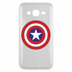 Чехол для Samsung J5 2015 Captain America