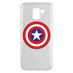 Чехол для Samsung J6 Captain America