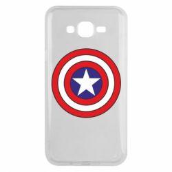 Чехол для Samsung J7 2015 Captain America