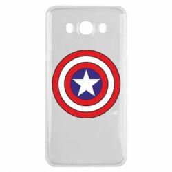 Чехол для Samsung J7 2016 Captain America
